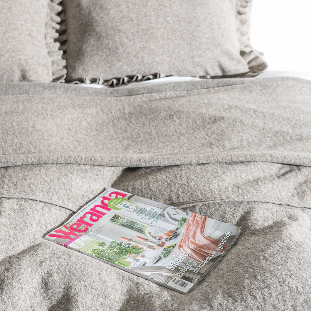 Cappuccino Ystad bed cover